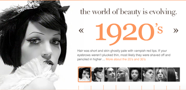 Awesome Beauty Trends Through The Decades The Budget Babe Affordable Short Hairstyles Gunalazisus