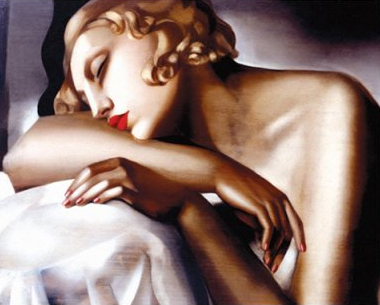 The Sleeper by Tamara de Lempicka