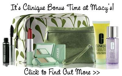 Deal du Jour: Clinique Bonus at Macy's