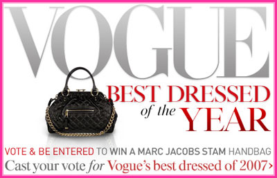 Enter Vogue's first-ever Best Dressed Sweepstakes