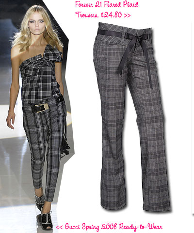Plaid Spring Trend Fashion