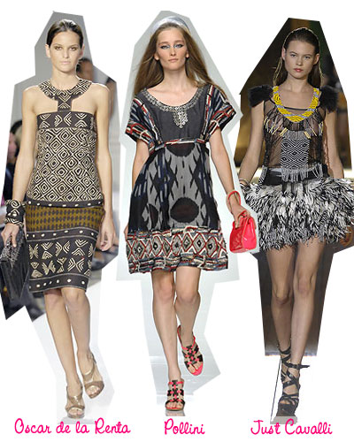 African Fashion Trends on Spring Fashion Trends 2008  Tribal Prints   The Budget Babe