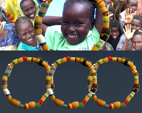 Fashion For A Cause Relief Bead Bracelets The Budget