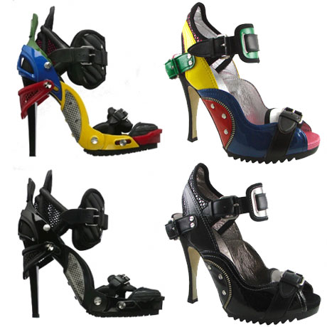 addio fertilizzante cliente  Look for Less: Balenciaga Lego Heels - The Budget Babe | Affordable Fashion  & Style Blog