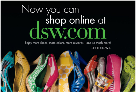 DSW Shoe Warehouse Launches Online Store - The Budget Babe ...
