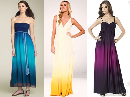 Luxe vs. Less: The Ombre Maxi Dress - The Budget Babe | Affordable ...