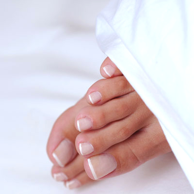 Poll: Are French Pedicures Hot or Not? - The Budget Babe