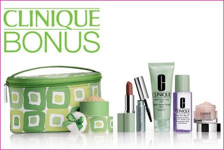 Clinique Bonus at Bon-Ton, Carson Pirie Scott & More