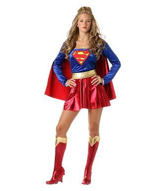 Superwoman Halloween Costume