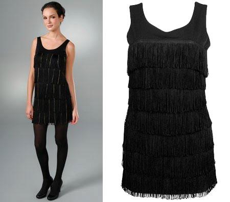 Black  Dress on The Look For Less  Larok Fringe Dress   The Budget Babe