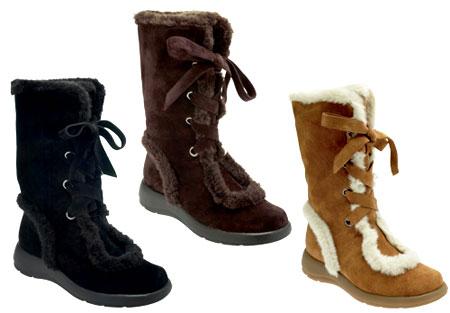 Pretty Snow Boots - Cr Boot