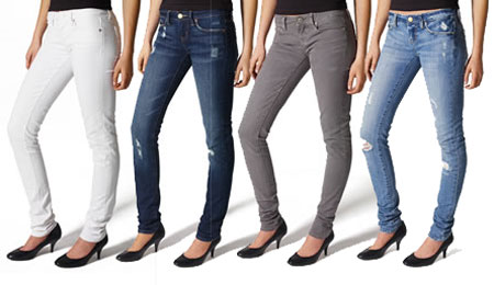 We Tested 24 Pairs Of Affordable Skinny Jeans And These Are The Best We tested 24 pairs of jeans from Old Navy, H&M, Forever 21, Target, and American Eagle to find out which brand's pants are actually worth the money.