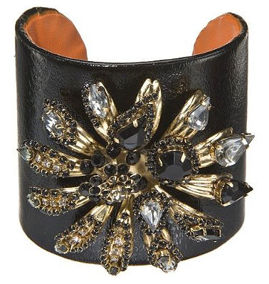 Erickson Beamon for Target jeweled flower cuff