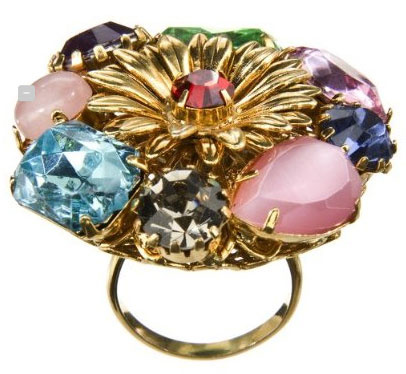 Erickson Beamon for Target jeweled flower ring