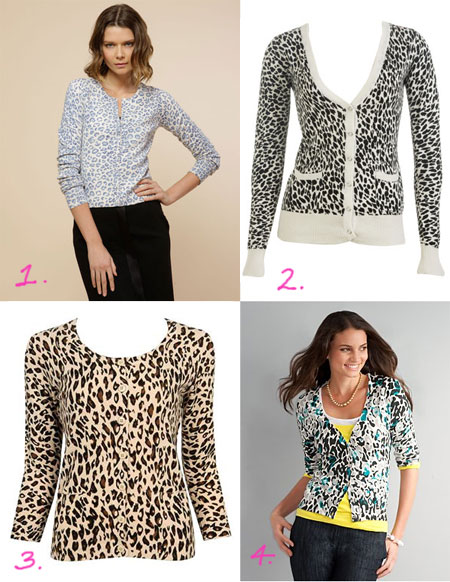Four Leopard Print Cardigans: Would You Wear One? - The Budget ...