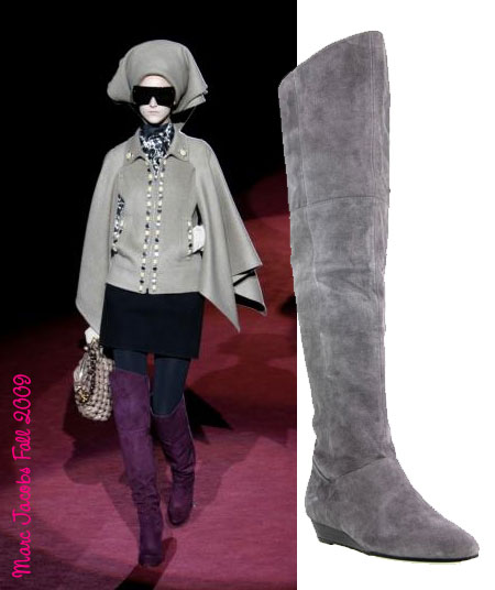 241433a1699 I m in love. My parents always wanted me to fall in love before 30 and I  finally have...sadly the object of my affections is a purple suede boot by  Marc ...