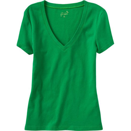 Old Navy Perfect Fit V-Neck Tee