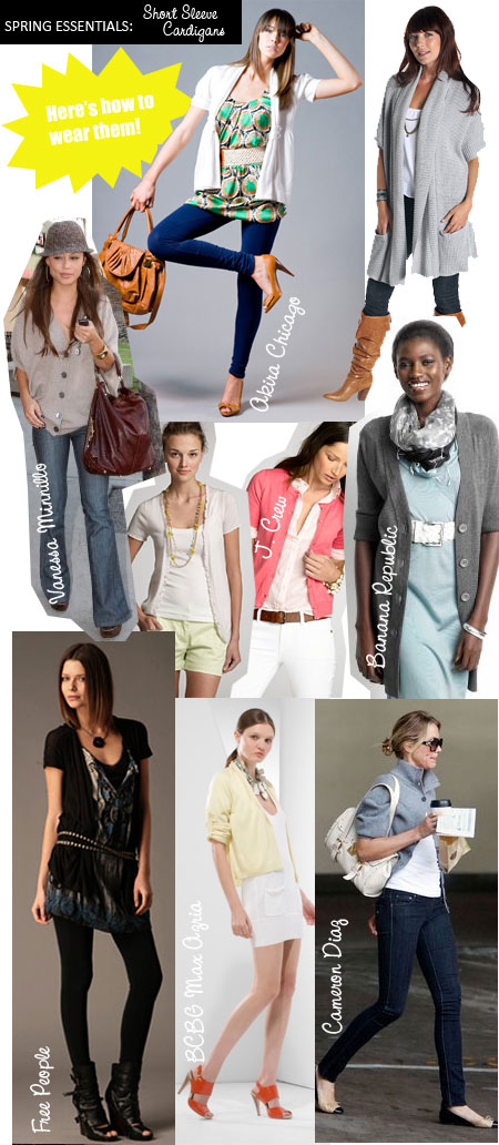 0d23bcd5ccc Spring s Best Short Sleeve Cardigans and How to Wear Them - The ...