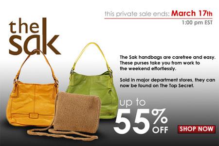 The Sak Handbag Sale at TheTopSecret.com - The Budget Babe