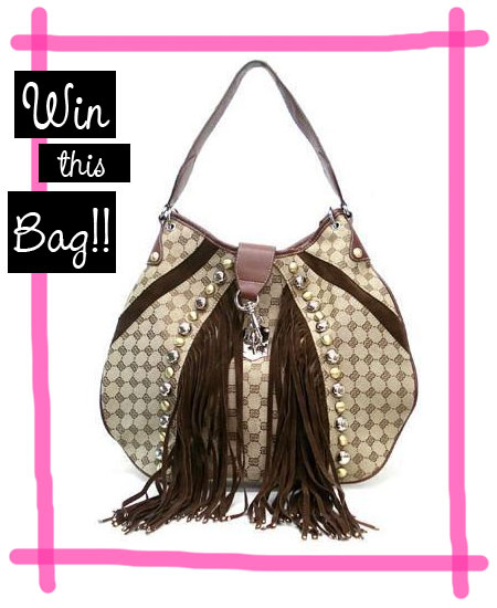 Win a Gucci-inspired hobo bag