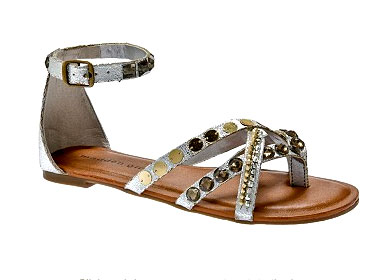 Gladiator Flat Sandals inspired by designer Matt Bernson