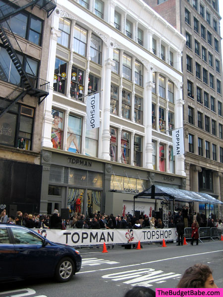 Topshop SOHO Grand Opening
