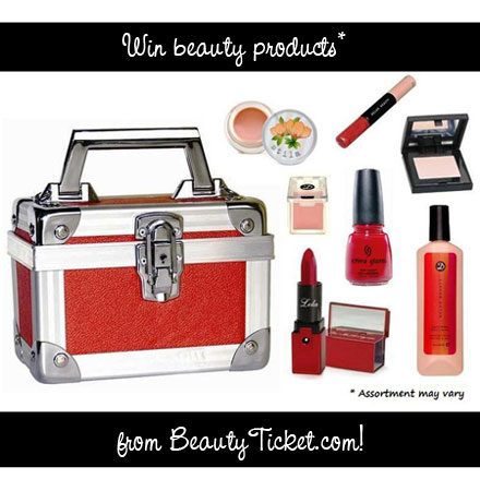 BeautyTicket.com giveaway