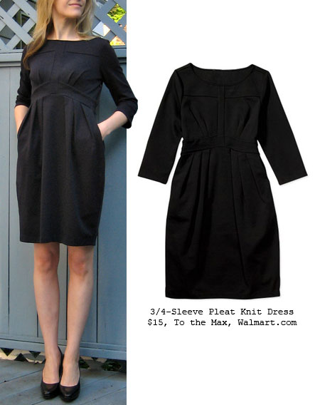 My Latest Deal: 15 Dollar To the Max Pleat Knit Dress