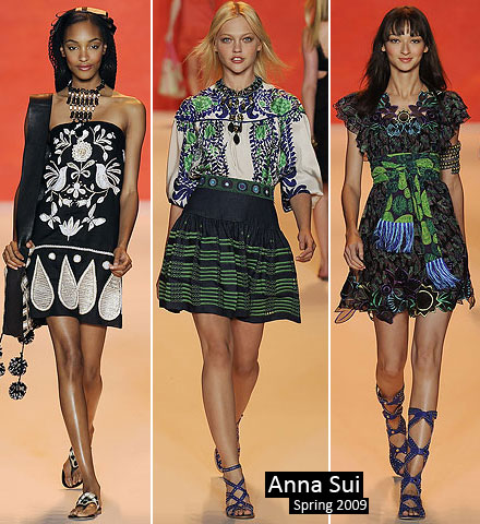 With a nod to Anna Sui's