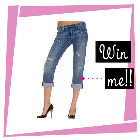 Win your choice of Current/Elliott jeans from Chickdowntown.com