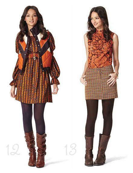 Anna Sui's Gossip Girl–Inspired Target Collection look book photos