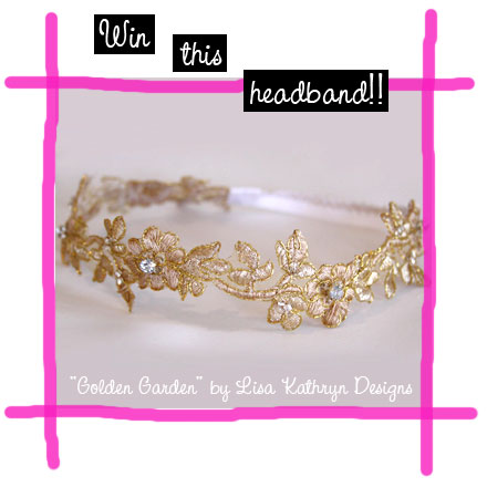 Win Cool Stuff: Lisa Kathryn Designs Headband