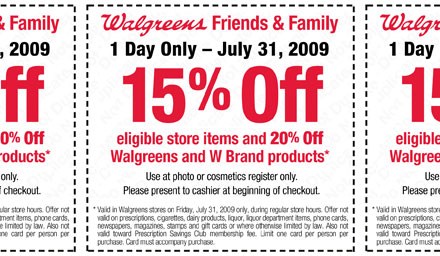 Printable Walgreens Coupon 15 Off Your Purchase Today Only The Budget Babe Affordable Fashion Style Blog