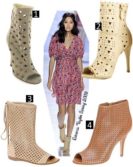 Four Perforated Boots: Would You Wear One?