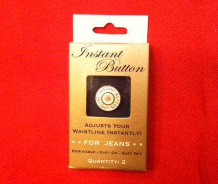 Product Review: The Instant Button (For Jeans)