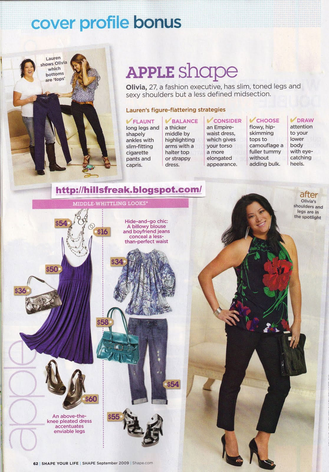 fe45cf510dc87c LC Lauren Conrad for Kohls in Shape Magazine - The Budget Babe ...