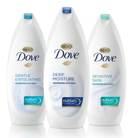 Beauty Review: Dove Body Wash with NutriumMoisture