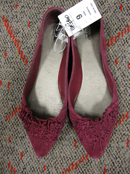 Off the Rack: Fall Flats at Target