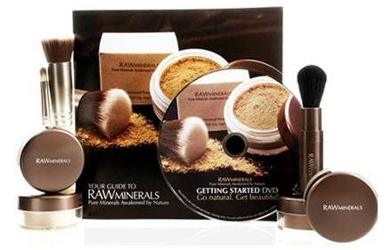 Beauty Review: RAWMinerals 7-Piece Discovery Kit