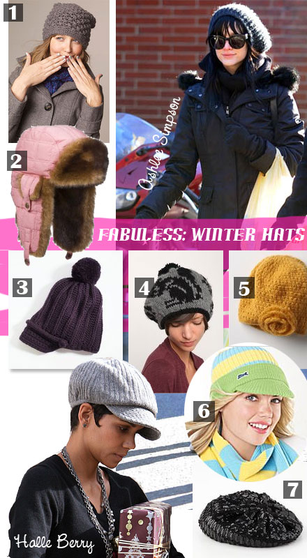 Cute and stylish winter hats for cheap