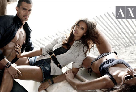 Armani Exchange Spring 2010 Campaign