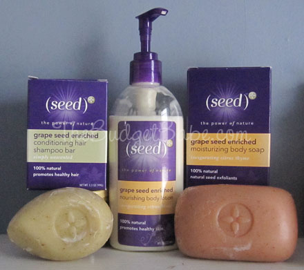 Beauty Review: (seed) Grape Seed Enriched Body Care Products