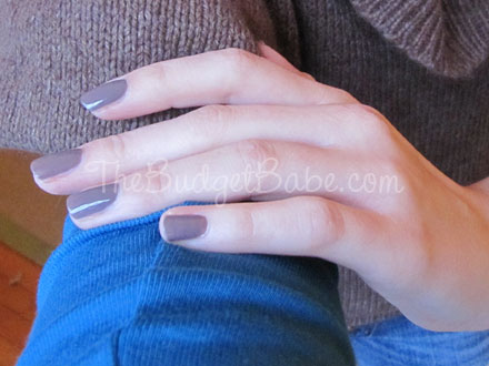 Beautry Review: Sally Hansen Nail Polish in Commander in Chic
