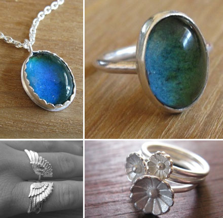Etsy Artist of the Week: Sweet Nirvana sells affordable mood rings and other handmade jewely