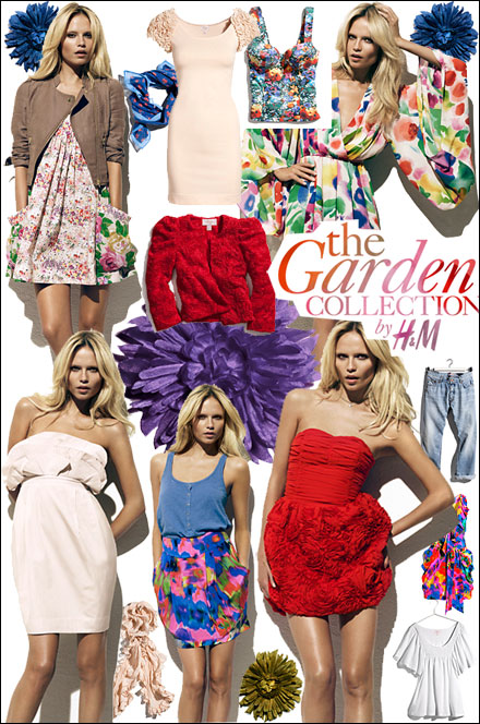 Inspiration Board: H&M The Garden Collection