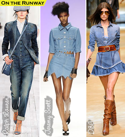 Spring Fashion Trends 2010: Denim on Denim