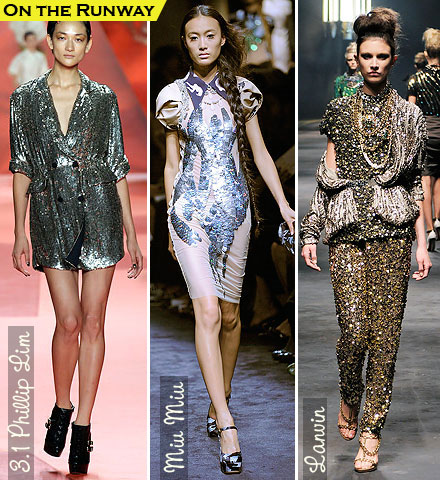 Spring Fashion Trends 2010: Sequins
