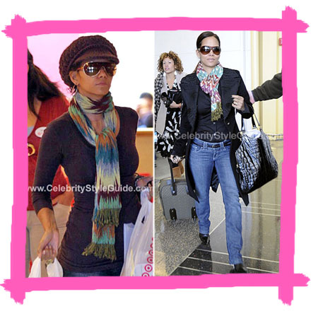 Win Cool Stuff: 2 Tolani Scarves from Celebrity Style Guide