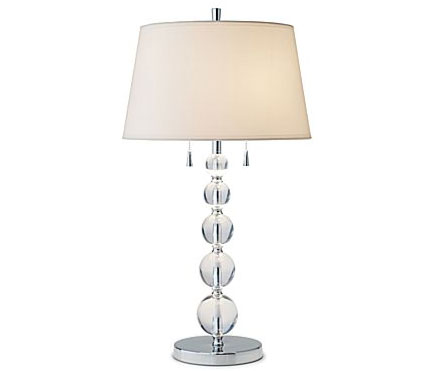 Decorate Your Home For A Lot Less Cash With This Crystal Ball Table Lamp By  Studio For JCP.com, On Sale Now For $79.99 (orig. $160).
