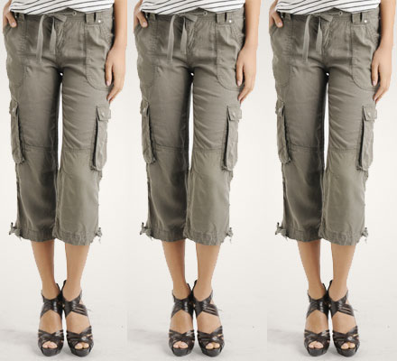 3 Ways to Wear: Cargo Capri Pants - The Budget Babe | Affordable ...
